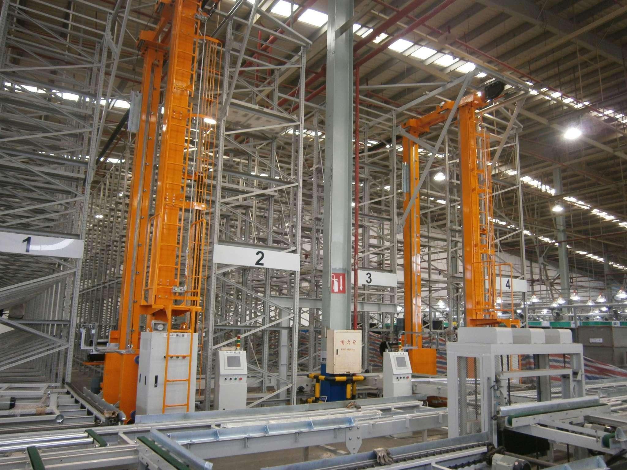 自动化立体仓库在未来有巨大的发展空间