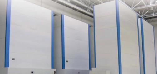 在工业领域应用了两种形式的仓库自动化